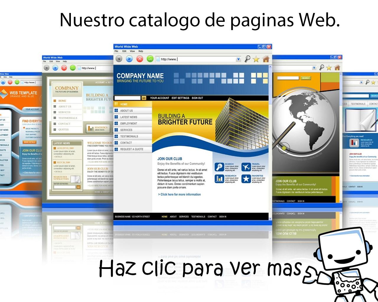 Catalogo Paginas web Caverna Tecnologica